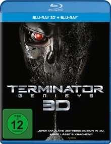 Terminator: Genisys (3D & 2D Blu-ray), 2 Blu-ray Discs