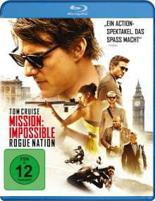Mission: Impossible - Rogue Nation (Blu-ray), Blu-ray Disc