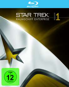 Star Trek Raumschiff Enterprise Staffel 1 (Blu-ray), 7 Blu-ray Discs
