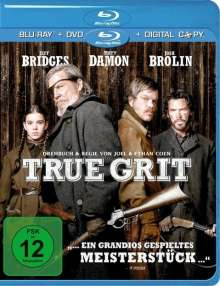 True Grit (2010) (Blu-ray + DVD + Digital Copy), Blu-ray Disc