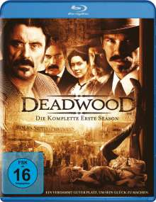 Deadwood Season 1 (Blu-ray), 3 Blu-ray Discs