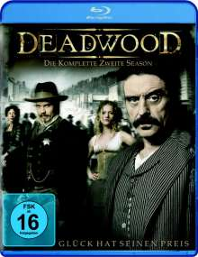 Deadwood Season 2 (Blu-ray), 3 Blu-ray Discs