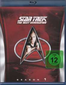 Star Trek: The Next Generation Season 1 (Blu-ray), Blu-ray Disc