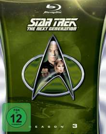 Star Trek: The Next Generation Season 3 (Blu-ray), 6 Blu-ray Discs