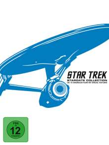 Star Trek I-X (Stardate Collection)  (Blu-ray), 12 Blu-ray Discs