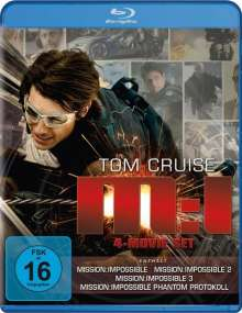 Mission: Impossible Ultimate Missions 1-4 (Blu-ray), 4 Blu-ray Discs