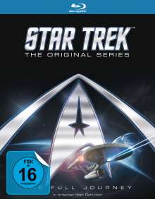 Star Trek: Raumschiff Enterprise (Komplette Serie) (Blu-ray), 20 Blu-ray Discs