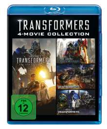 Transformers 4-Movie Collection (Blu-ray), 4 Blu-ray Discs
