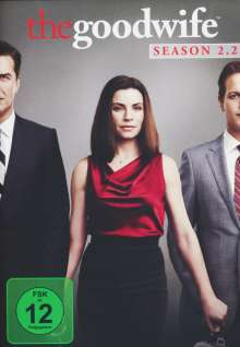 The Good Wife Season 2 Box 2, 3 DVDs
