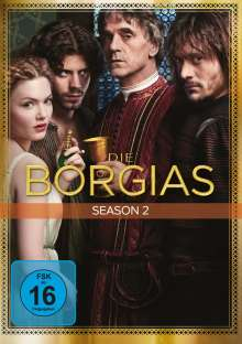 Die Borgias Season 2, 4 DVDs