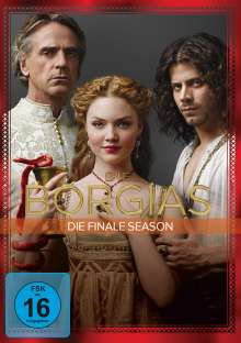 Die Borgias Season 3 (finale Staffel), 4 DVDs