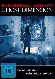 Paranormal Activity 5: The Ghost Dimension, DVD