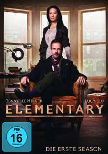 Elementary Season 1, 6 DVDs