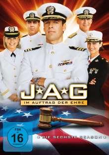 J.A.G. - Im Auftrag der Ehre Season 6, 6 DVDs