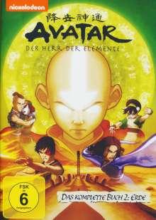 Avatar Buch 2: Erde (Gesamtausgabe), 4 DVDs