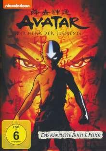 Avatar Buch 3: Feuer (Gesamtausgabe), 4 DVDs