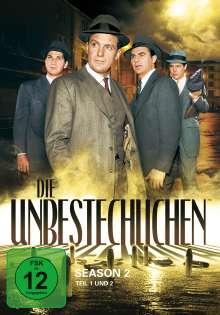 Die Unbestechlichen Season 2, 8 DVDs