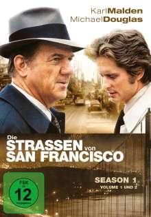 Die Straßen von San Francisco Season 1, 8 DVDs