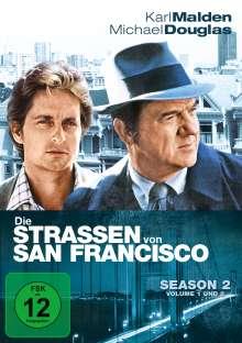 Die Straßen von San Francisco Season 2, 6 DVDs