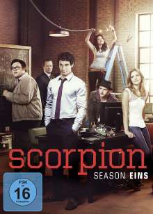 Scorpion Staffel 1, 6 DVDs