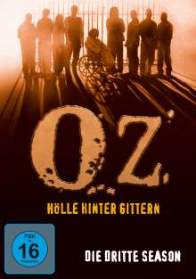 Oz - Hölle hinter Gittern Season 3, 3 DVDs