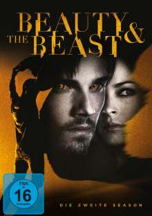 Beauty and the Beast Season 2, 6 DVDs