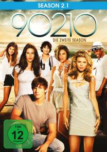 90210 Season 2 Box 1, 3 DVDs