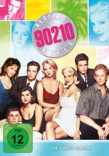 Beverly Hills 90210 Season 5, 8 DVDs