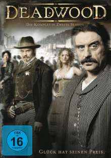 Deadwood Season 2, 4 DVDs