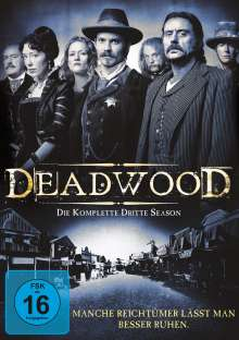 Deadwood Season 3, 4 DVDs