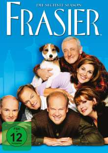 Frasier Season 6, 4 DVDs