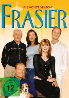Frasier Season 8, 4 DVDs