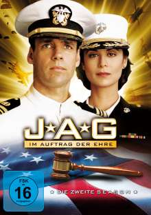 J.A.G. - Im Auftrag der Ehre Season 2, 4 DVDs