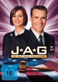 J.A.G. - Im Auftrag der Ehre Season 8, 5 DVDs