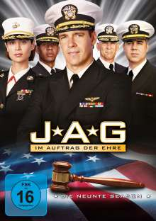 J.A.G. - Im Auftrag der Ehre Season 9, 5 DVDs