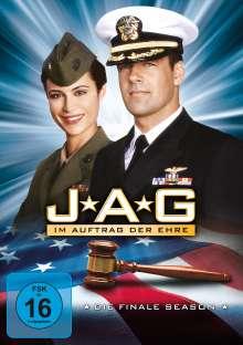 J.A.G. - Im Auftrag der Ehre Season 10 (finale Staffel), 5 DVDs