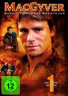 MacGyver Season 1, 6 DVDs