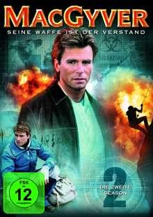 MacGyver Season 2, 6 DVDs