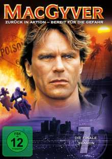 MacGyver Season 7 (finale Staffel), 4 DVDs