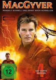 MacGyver Season 4, 5 DVDs