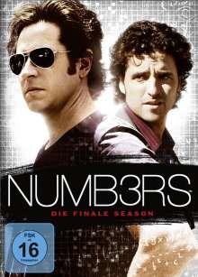 Numb3rs Season 6 (finale Staffel), 4 DVDs