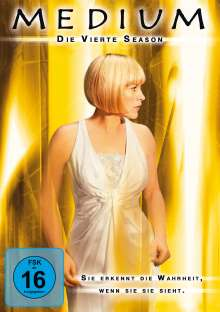 Medium Season 4, 4 DVDs