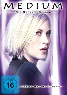 Medium Season 6, 5 DVDs