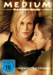 Medium Season 7 (finale Staffel), 4 DVDs