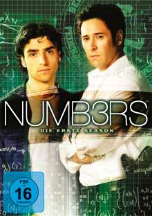 Numb3rs Season 1, 4 DVDs