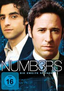Numb3rs Season 2, 6 DVDs