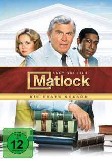 Matlock Season 1, 7 DVDs