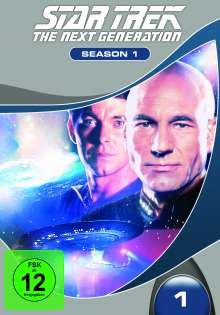 Star Trek: The Next Generation Season 1, 7 DVDs
