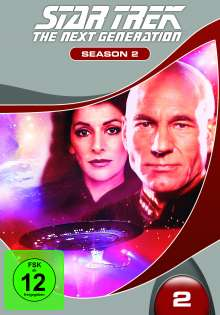 Star Trek: The Next Generation Season 2, 6 DVDs