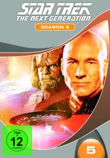 Star Trek: The Next Generation Season 5, 7 DVDs